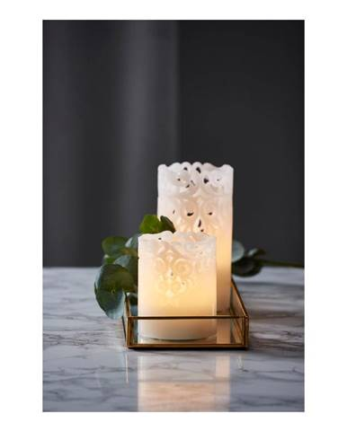 LED sviečka Best Season Wax Candle Clary Lungo, výška 15 cm