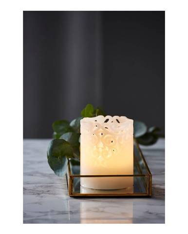 LED sviečka Best Season Wax Candle Clary, výška 10 cm