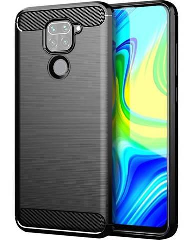 Kryt na mobil WG Carbon na Xiaomi Redmi Note 9 čierna