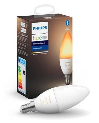 Inteligentná žiarovka Philips Hue Bluetooth, 6W, E14, White