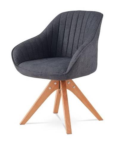Jedálenská stolička CHIP l sivá/buk