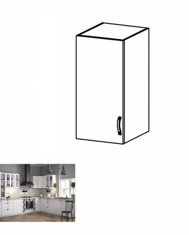 Horná skrinka G30 ľavá biela/sosna andersen PROVANCE