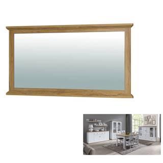 Zrkadlo MZ16 biela/dub grand LEON