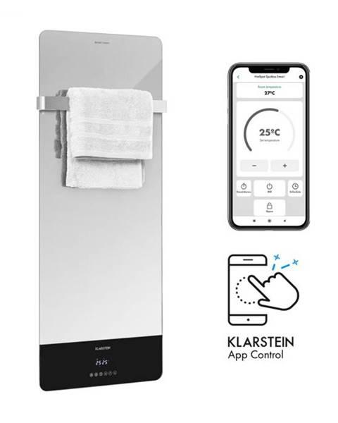 Klarstein Klarstein Hot Spot Crystal Reflect Smart, infračervený ohrievač, 850 W, aplikácia, časovač, zrkadlo