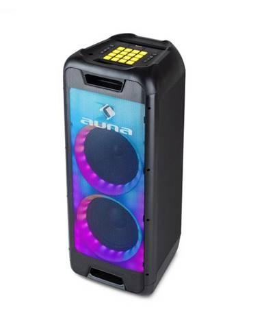 """Auna Clubmaster DJ, reproduktor, 120 W max., 8"""" woofer, DJ pad, USB, BT, linkový vstup, čierny"""
