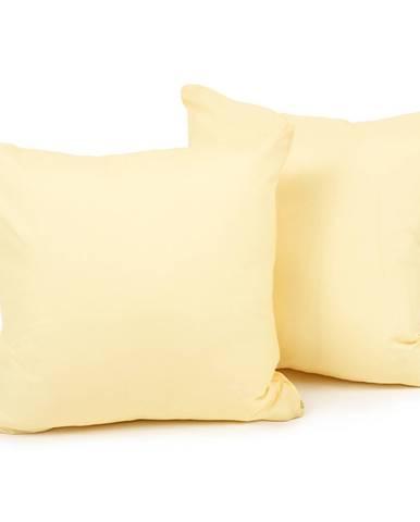 4Home Obliečka na vankúšik žltá, 40 x 40 cm