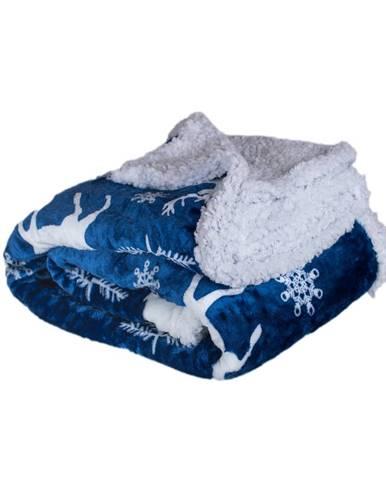 Jahu Baránková deka Jeleň modrý, 150 x 200 cm