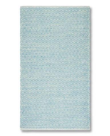 Ručné Tkaný Koberec Carola 2, 80/150, Modrá