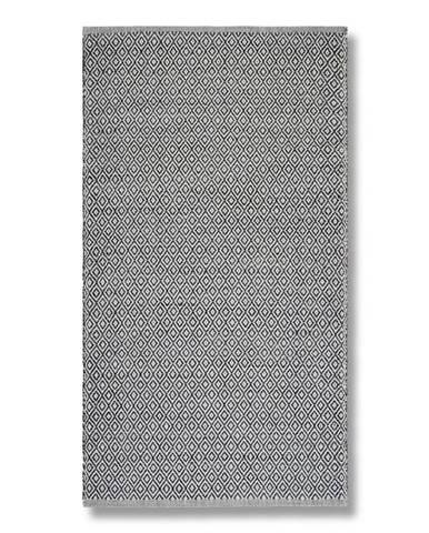 Ručné Tkaný Koberec Carola 2, 80/150, Sivá