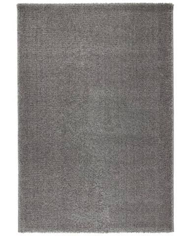 Tkaný Koberec Rubin 1, 80/150cm, Sv.sivá