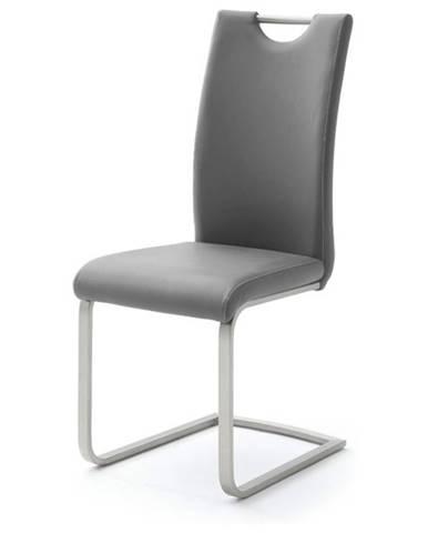 Jedálenská stolička PIPER sivá