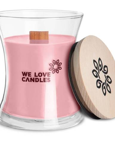 Sviečka zo sójového vosku We Love Candles Basket of Tulips, doba horenia 64 hodín
