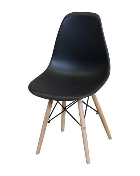IDEA Nábytok Jedálenská stolička UNO čierna
