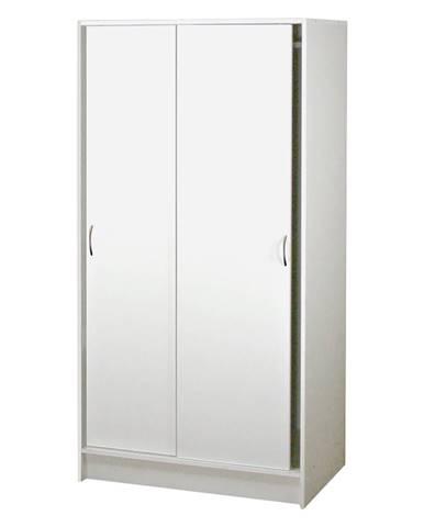 Skriňa s posuvnými dverami BEST biela
