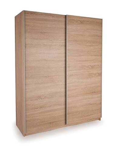 Skriňa s posuvnými dverami DECOR 150 dub