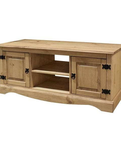 IDEA Nábytok TV stolík 2 dvere CORONA vosk
