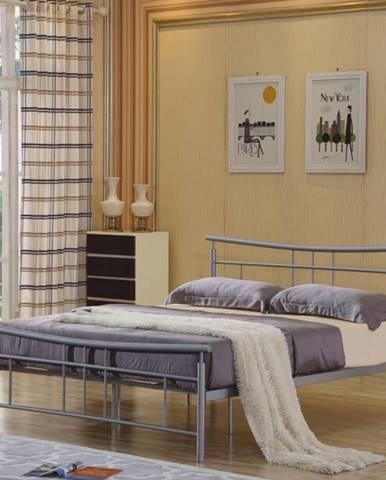 Tempo Kondela Kovová manželská posteľ DORADO / 160x200
