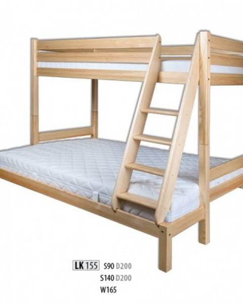 Drewmax Drewmax Poschodová posteľ LK155