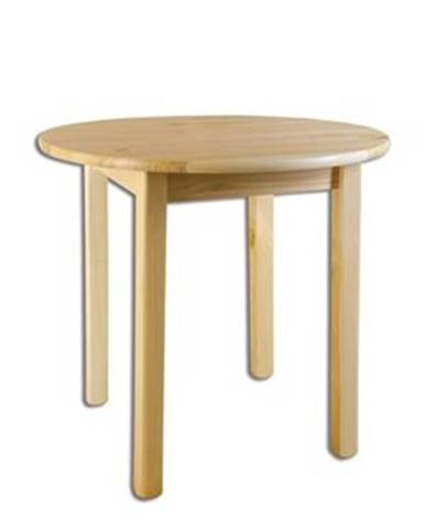 Drewmax Stôl - masív ST105 | 80cm borovica