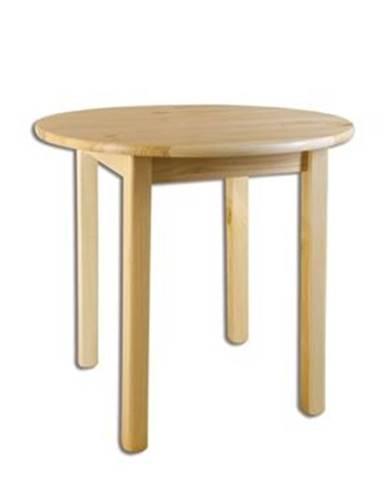 Drewmax Stôl - masív ST105 | 90cm borovica