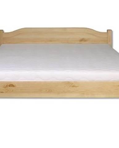 Manželská posteľ - masív LK106 | 200cm borovica