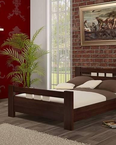 ArtBed Manželská posteľ Bergamo / borovica