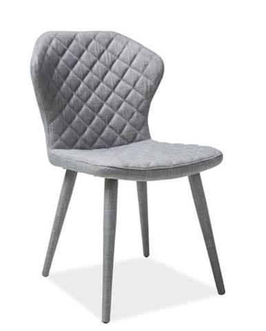 Signal Jedálenská stolička LOGAN sivá