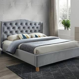 Signal Manželská posteľ ASPEN VELVET 180x200 SIGNAL - spálňový nábytok