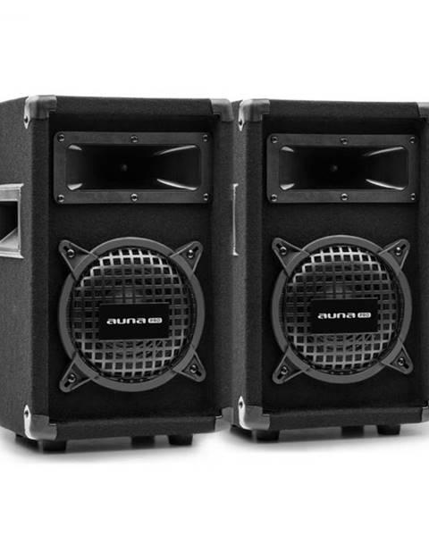 "Auna Pro Auna Pro PW-0822 MKII, pár pasívnych PA 2-pásmových reproduktorov, 8"" subwoofer, 150 W RMS"