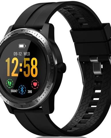 Inteligentné hodinky Niceboy X-fit Coach GPS čierny