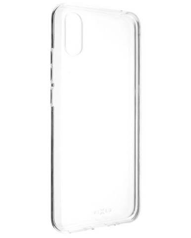 Kryt na mobil Fixed Skin na Xiaomi Redmi 9A priehľadný