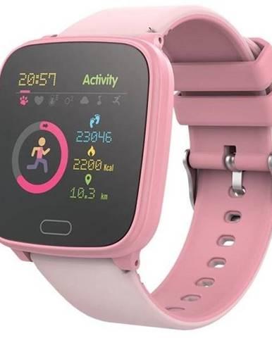 Inteligentné hodinky Forever IGO JW-100 ružové