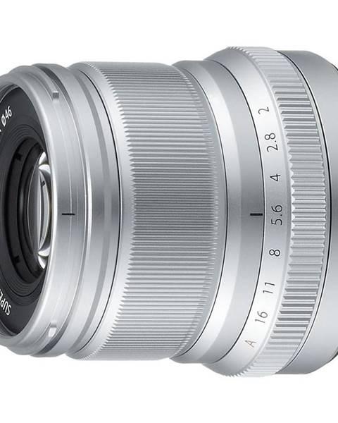 Fujifilm Objektív Fujifilm XF50 mm f/2.0 R WR strieborn