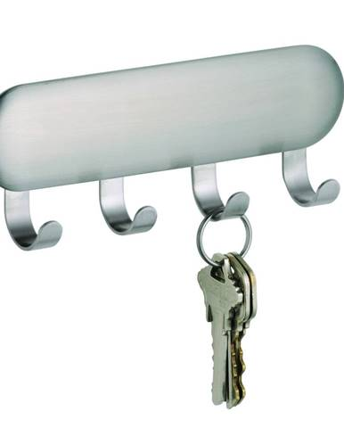 Samodržiaci vešiak na kľúče iDesign Forma, 16 x 14 cm