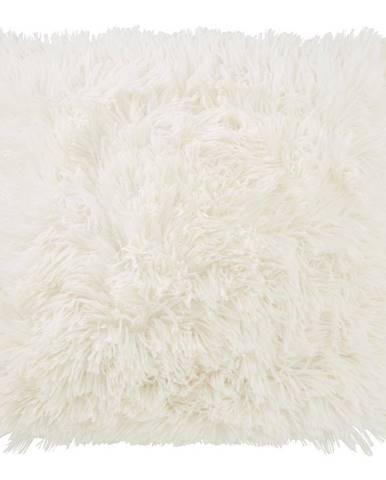 Dekoračný Vankúš Fluffy, 45/45cm, Biela