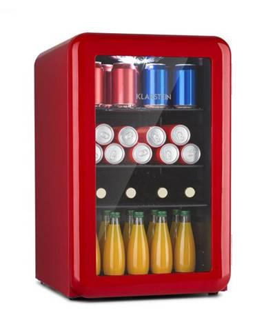 Klarstein PopLife 65L, chladnička na nápoje, chladnička, 70 litrov, 0 – 10 °C, retro dizajn
