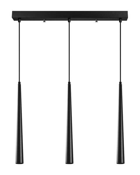 Opviq lights Čierne závesné svietidlo pre 3 žiarovky Opviq lights Uğur