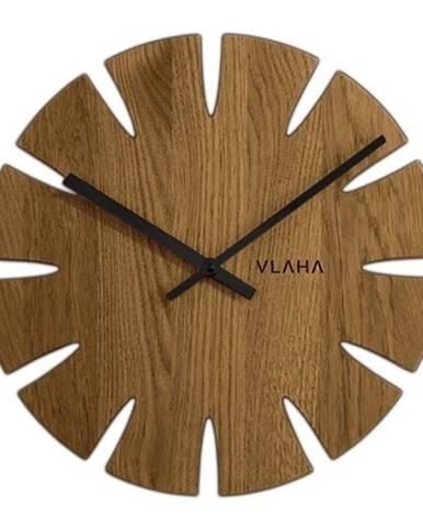Dubové hodiny vlaha VCT1015, 33cm