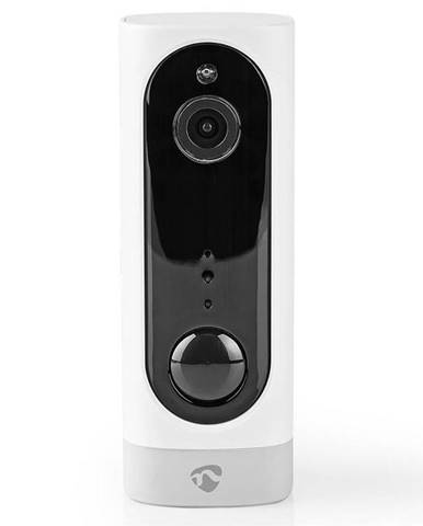 IP kamera Nedis Wificbi10wt, bateriová, Wi-Fi, 1080p biela