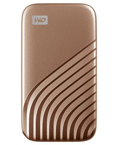 SSD externý Western Digital My Passport SSD 1TB zlatý