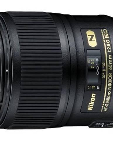 Objektív Nikon Nikkor 60 mm f/2.8G ED AF-S Micro čierny