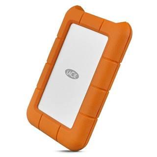 Externý pevný disk Lacie Rugged 1TB, USB-C oranžový