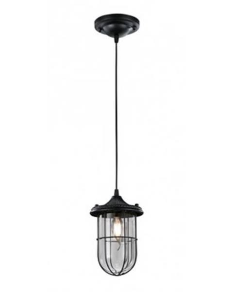ASKO - NÁBYTOK Stropná lampa Birte 303800102, čierna%
