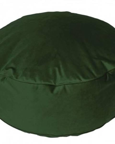 ASKO - NÁBYTOK Taburet Tutti, tmavo zelený%