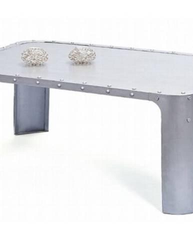 Konferenčný stolík Gormur, šedý vintage povrch%