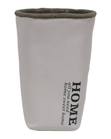 Cementová váza CV04 biela