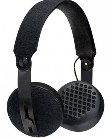 Slúchadlá cez hlavu MARLEY Rise - Black, Bluetooth