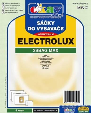 Vrecká do vysávača Electrolux 2S-bag MAX, antibakteriálne, 8ks