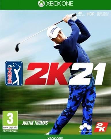 XBOX hra - PGA Tour 2K21