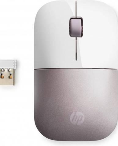 Bezdrôtová myš HP Z3700 - white pink + Zdarma podložka Olpran